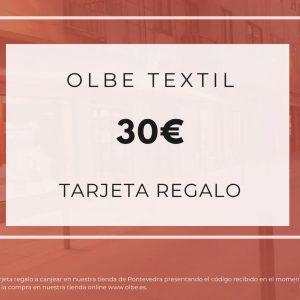 Tarjeta regalo Olbe 30€