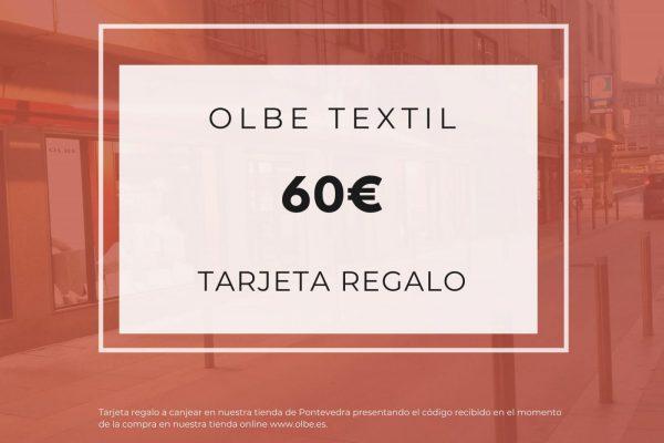 Tarjeta regalo Olbe 60€