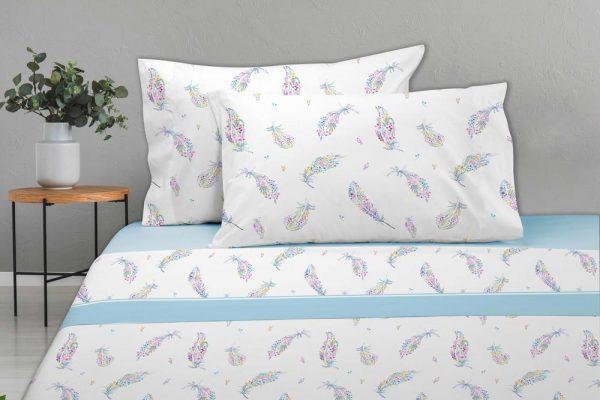 JUEGO DE SABANAS INDI dib. 202 en Olbe Textil