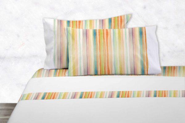 Juego de sabanas Neo Tropic dib. 201 en Olbe Textil