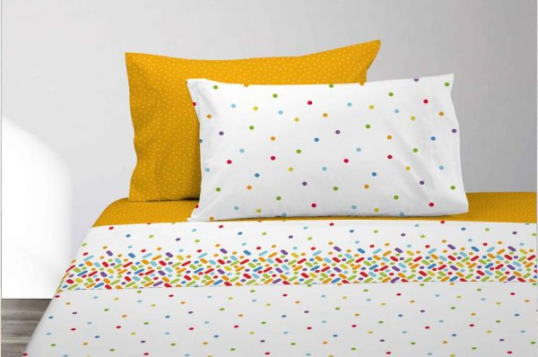 Juego sabanas colors dib.249 en Olbe Textil