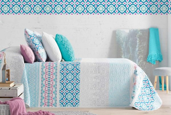 Colcha Bouti Tie Dye dib. 212 en Olbe Textil